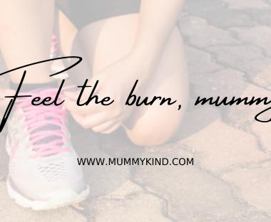 Pospartum fitness - feel the burn mummy