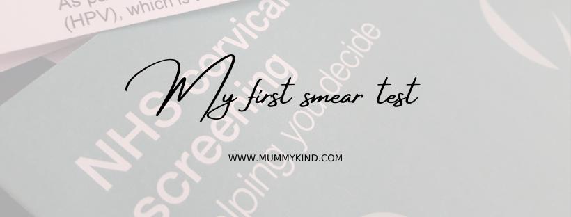 My first smear test